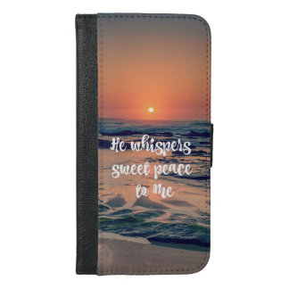 Ocean Sunset with Whispers Sweet Peace Lyric