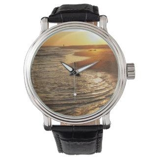 Ocean Sunset Wristwatches