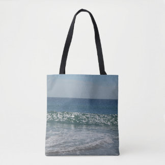 ocean surf  seaside tote bag