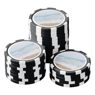 Ocean Surf Southern California Poker Chips