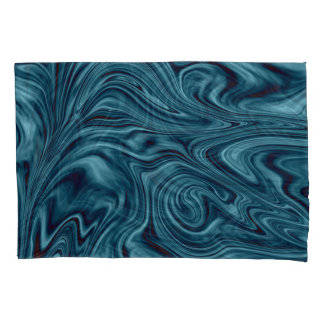 Ocean swirl pillowcase