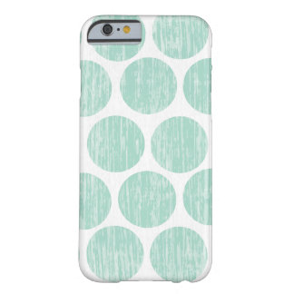 Ocean Teal Distressed Polka Dot iPhone 6 Barely There iPhone 6 Case