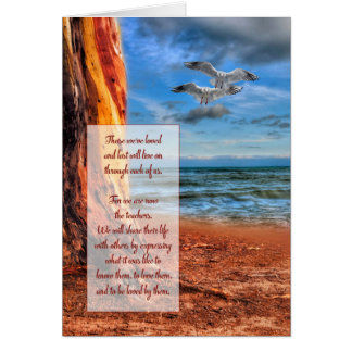 Ocean Theme Sympathy from Soul Sonnets™ Card