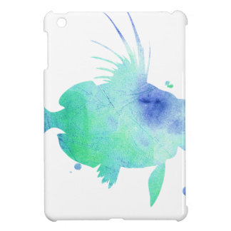 Ocean tide Aqua Fish custom print iPad Mini Case