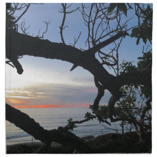 Ocean & Trees Napkin