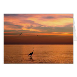 Ocean View at Sunset Card