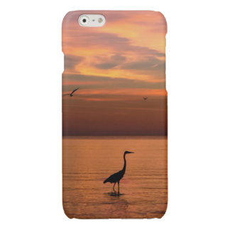 Ocean View at Sunset Glossy iPhone 6 Case