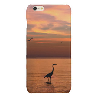 Ocean View at Sunset Glossy iPhone 6 Plus Case
