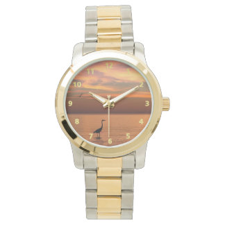 Ocean View at Sunset Wristwatches