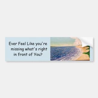 ocean view bumper sticker