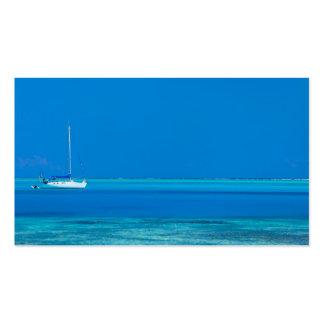 Ocean view business card