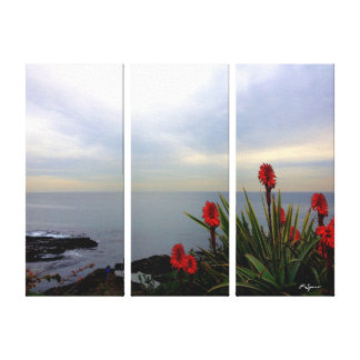 Ocean View Canvas Wrap Stretched Canvas Print