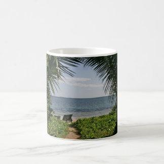 ocean view from paradise coffee mug