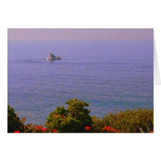 Ocean View Greeting Card - Blank inside