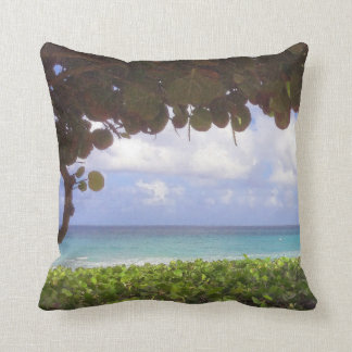 Ocean View, Juno Beach Throw Pillow
