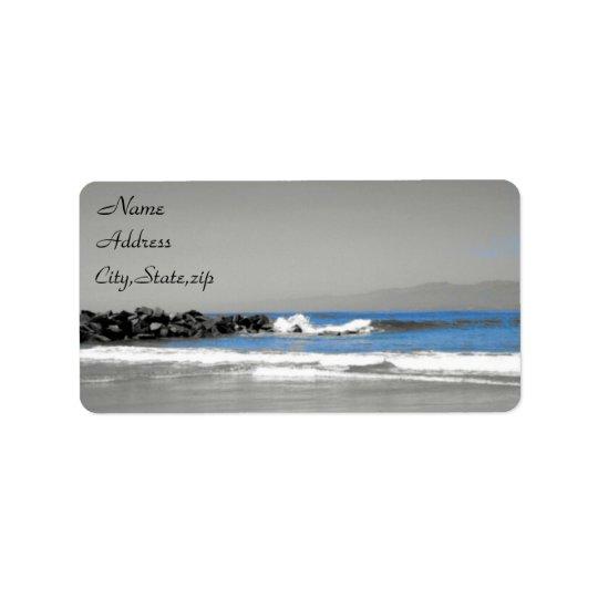 Ocean View_ Label