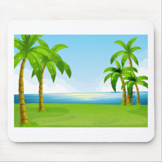 Ocean view mouse pad