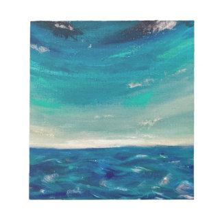 Ocean View Notepad