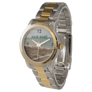 OCEAN VIEW OF THE GULF WRIST WATCH