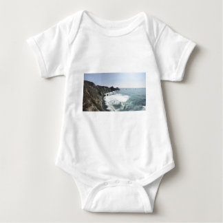 Ocean View Pacific Coast Highway Big Sur Baby Bodysuit