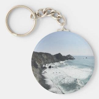 Ocean View Pacific Coast Highway Big Sur Key Ring