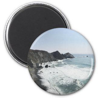 Ocean View Pacific Coast Highway Big Sur Magnet