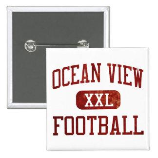 Ocean View Seahawks Football Pin