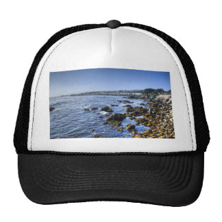 Ocean View Seascape Mesh Hats