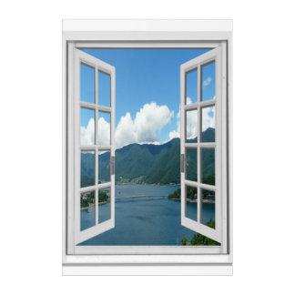 Window Wall Art window view art, posters & framed artwork | zazzle.au