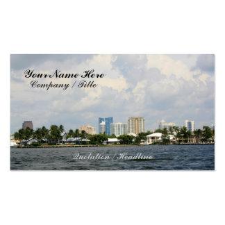 Ocean Views Pack Of Standard Business Cards
