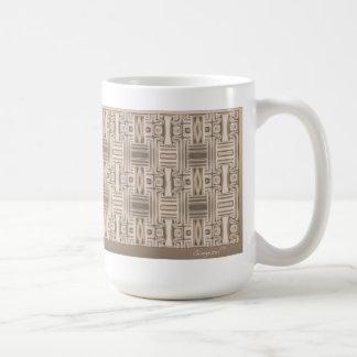 Ocean Villa Terrace Geometric Mug