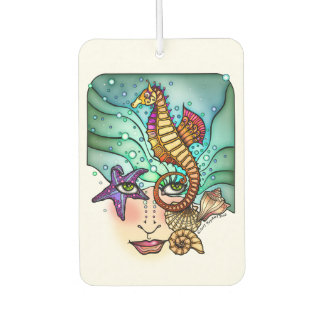 OCEAN VISIONS SEA ART CAR AIR FRESHENER