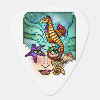 OCEAN VISIONS SEA ART GUITAR PICK