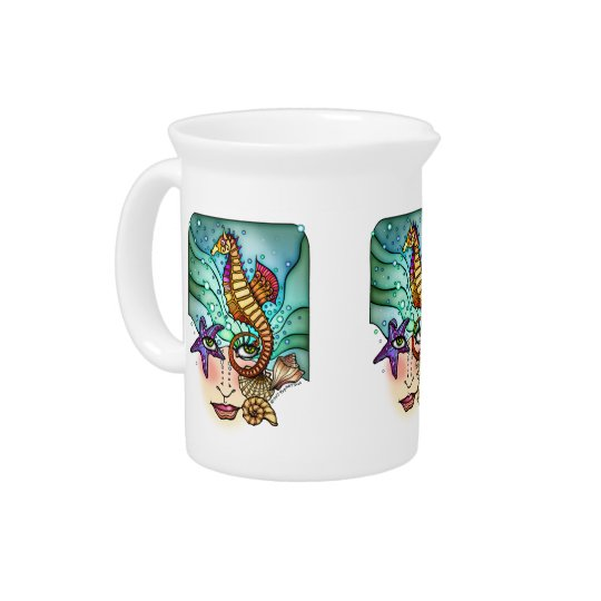 OCEAN VISIONS SEA ART PITCHER