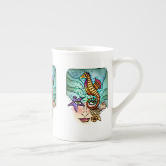 OCEAN VISIONS SEA ART TEA CUP