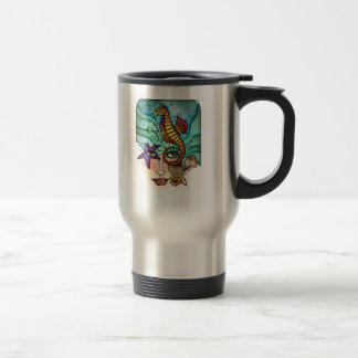 OCEAN VISIONS SEA ART TRAVEL MUG