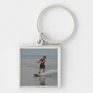Ocean Wakeboarder Key Chains
