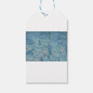 Ocean water gift tags