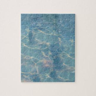 Ocean water jigsaw puzzle