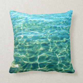 Ocean Water Light Reflection Pillow