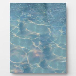 Ocean water plaque