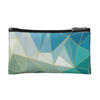Ocean wave cosmetics bag