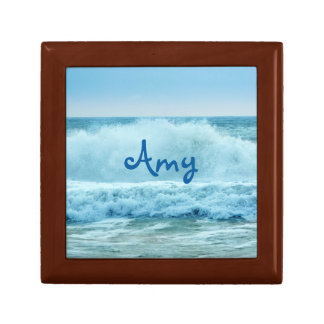 Ocean Wave Crashing Gift Box