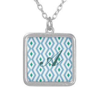 Ocean Wave Diamond Zigzag Necklace