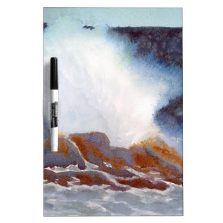 Ocean Wave Dry Erase Whiteboards