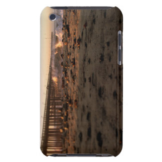 Ocean Wave Storm Pier Barely There iPod Cover