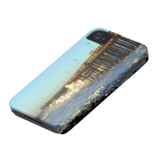 Ocean Wave Storm Pier Case-Mate iPhone 4 Cases