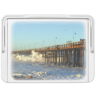 Ocean Wave Storm Pier Cooler