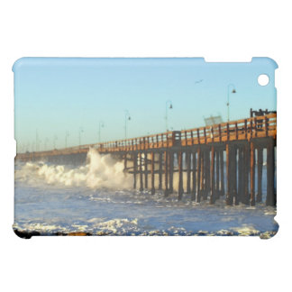Ocean Wave Storm Pier Cover For The iPad Mini
