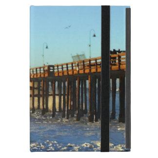 Ocean Wave Storm Pier iPad Mini Cover
